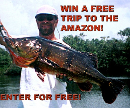 ENTER NOW TO WIN A FREE TRIP TO THE AMAZON!!